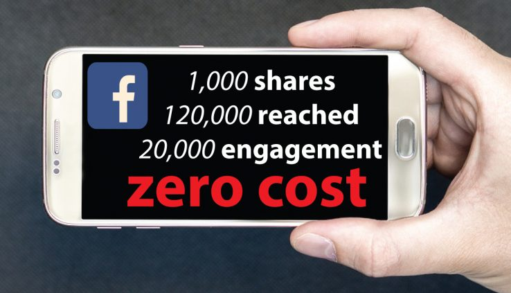 Learn facebook Ads For Free:How i Get 1000 SHARES On Facebook Within 6 Days With Zero Cost .