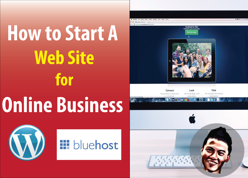How to Start A Web Site for Online Business -What is Wordpress , Hosting and Domains Name
