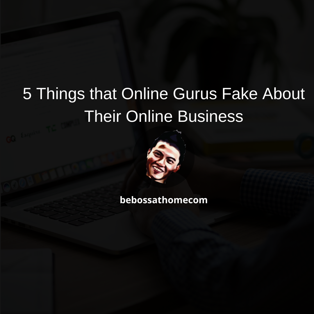 In this video I will show you 5 Things that Online Gurus Do Not Want You to Know How They Started An Online Business .