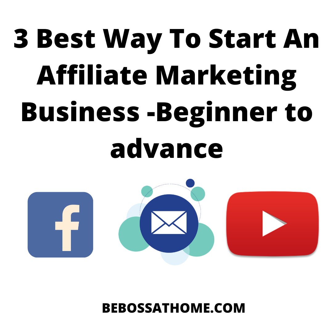In this video I will be sharing with you the 3 Best Way To Start An Affiliate Marketing Business for a beginner and also a advance marketer.3 Best Way To Start An Affiliate Marketing Business -Beginner to advance