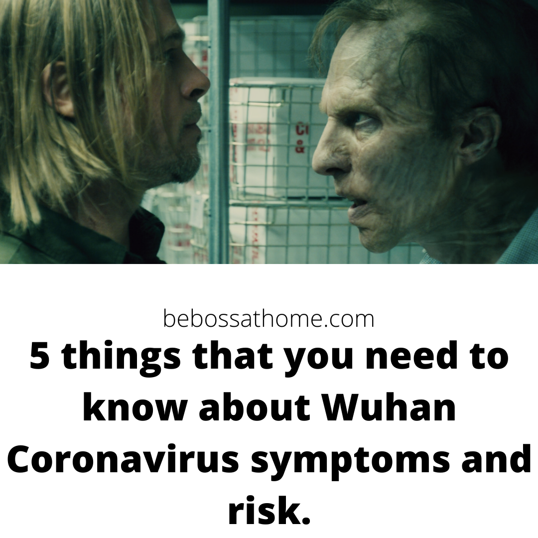 5 things that you need to know about Wuhan Coronavirus symptoms and risk.