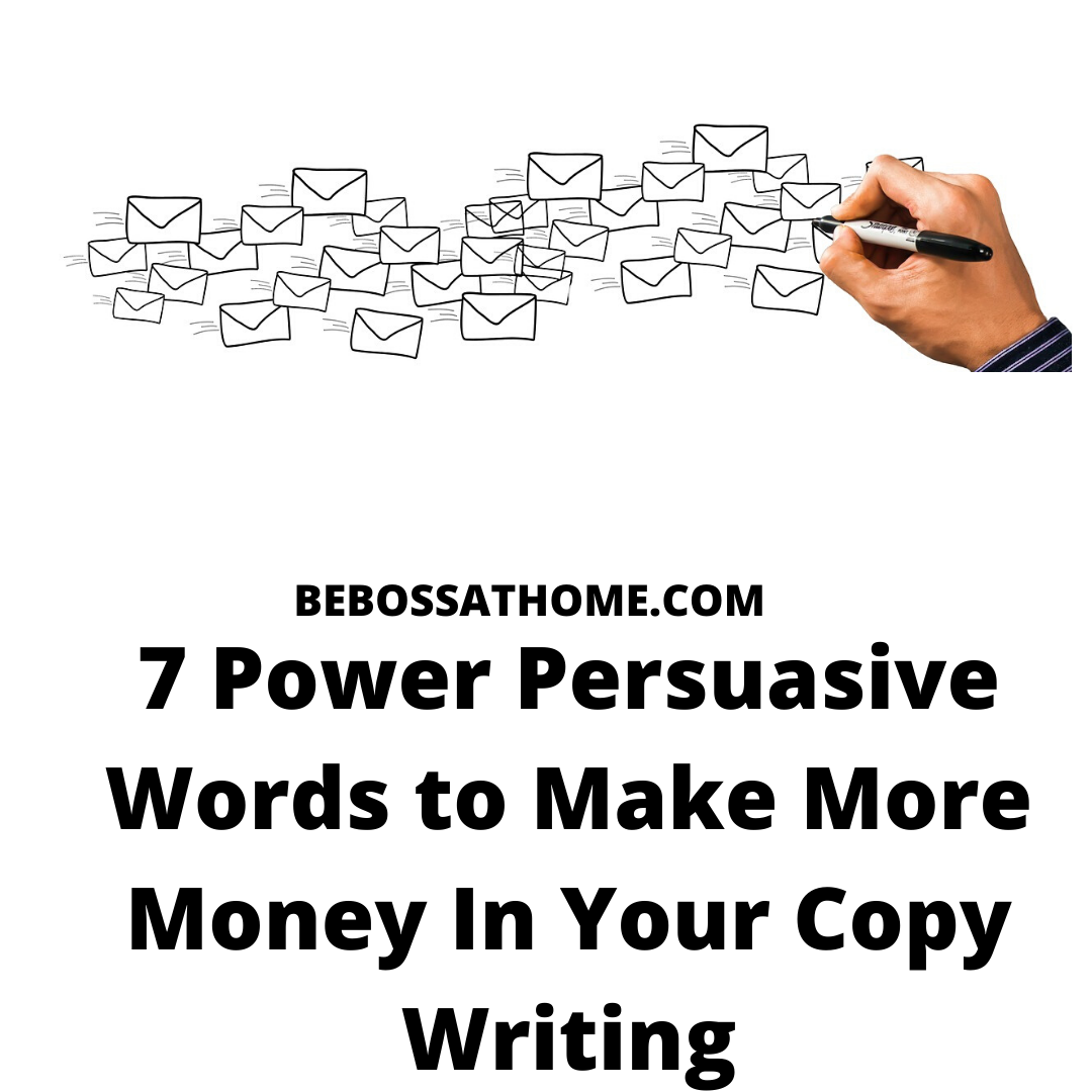 7 Power Persuasive Words to Make More Money In Your Copy Writing ,in this video you learn the 7 power words that used by online marketers to bring them more sales .