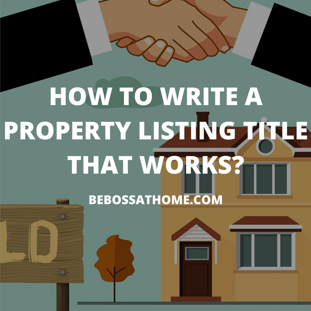 Copy writing for real estate is slightly different from others niche such as software ,and weight loss programme , as the primary method of selling a property majority are through listing .
