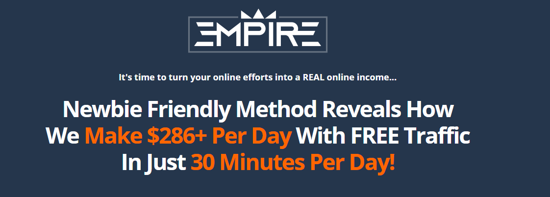 Newbie Friendly Method Reveals How We Make $286+ Per Day With FREE Traffic In Just 30 Minutes Per Day!