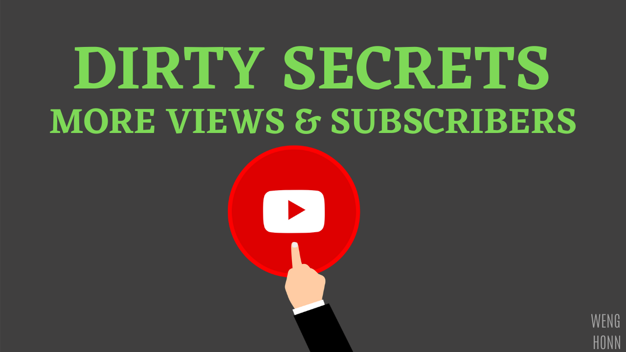 THE EASIEST AND FASTEST WAY TO GAIN VIEWS AND SUBSCRIBERS ON THE SHORTEST TIME.