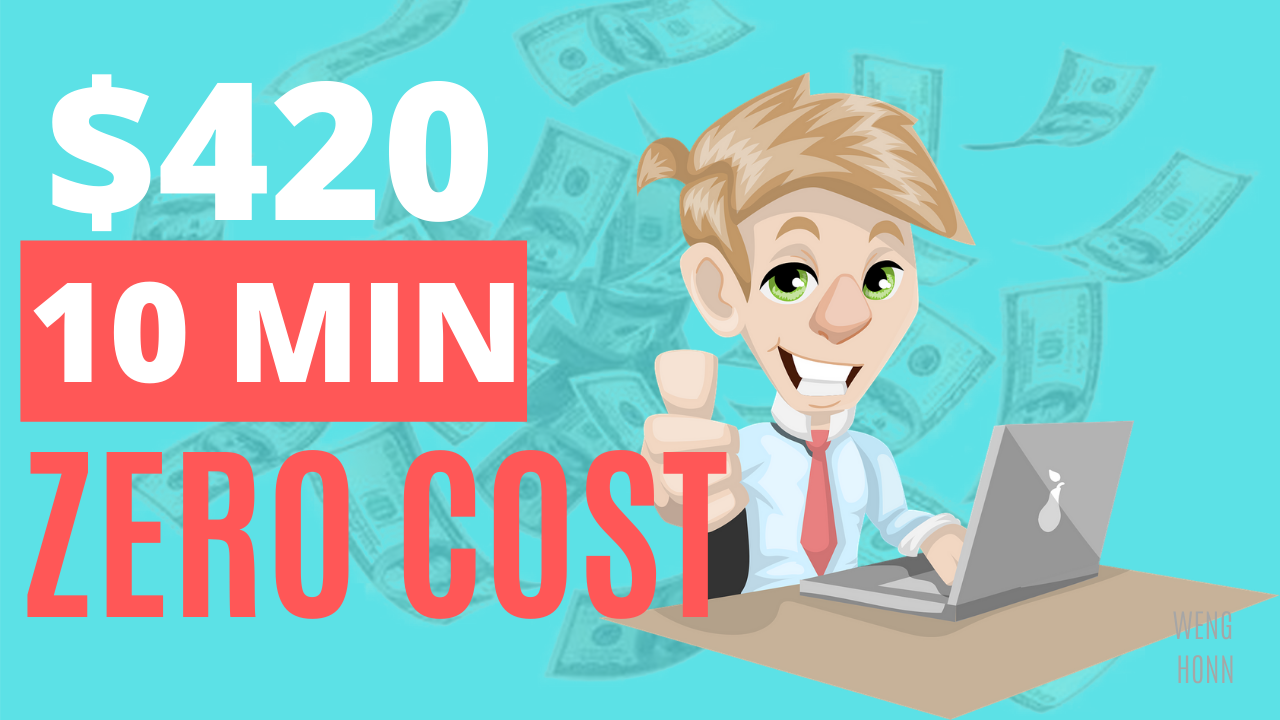Make $420 In 10 Mins Over & Over! (Make Money Online 2020 With Zero Cost) .