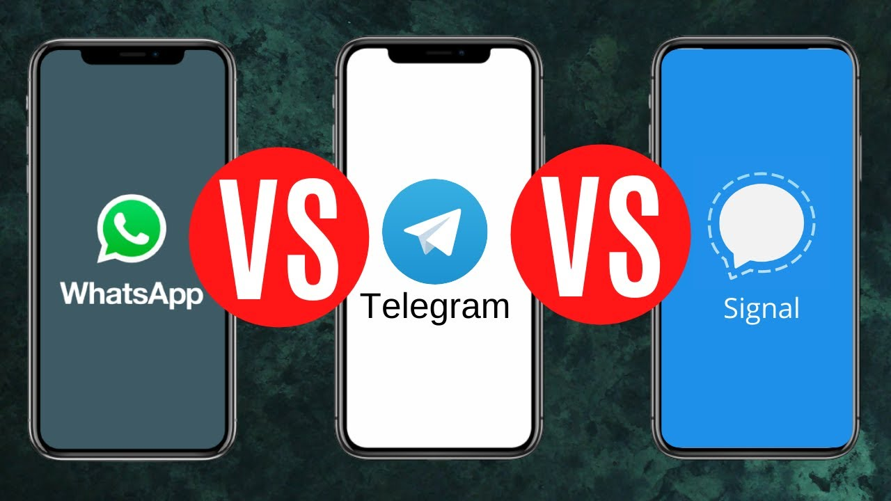 Detailed Head To Head Comparison WhatsApp vs Telegram vs Signal 2021 Complete Signal Guide