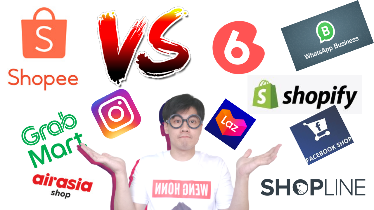 Top 10 Shopee Alternative Ecommerce to Consider In Malaysia 2021 l Weng Honn